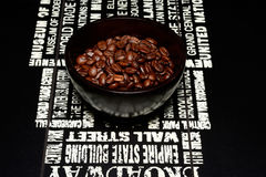 Bowl of beans Royalty Free Stock Photography