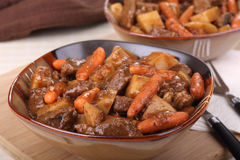 Bowl of Beef Stew Royalty Free Stock Photography