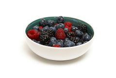 Bowl of Berries Royalty Free Stock Image