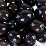 Bowl of black olives Royalty Free Stock Photos