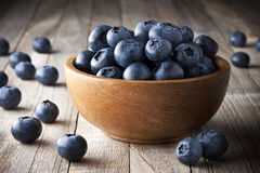 Bowl Blueberries Fruit Royalty Free Stock Photos