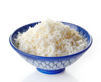 Bowl of boiled rice Royalty Free Stock Image