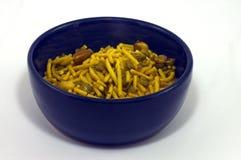 Bowl of Bombay Mix Royalty Free Stock Photo
