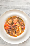 Bowl of Bouillabaisse Stock Image