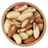 Bowl With Brazil Nuts Royalty Free Stock Photo