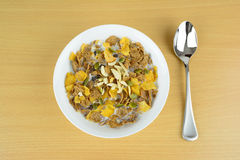 A bowl of breakfast cereal Stock Photography