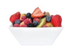 Bowl of breakfast fruit Stock Image