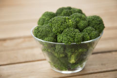 Bowl of Broccoli Stock Photo