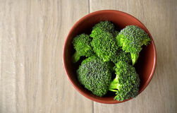 Bowl of Broccoli Stock Photos