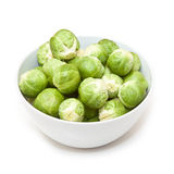Bowl of Brussels sprouts Royalty Free Stock Photos