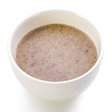 A bowl of buckwheat soup Royalty Free Stock Photos