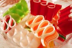 Bowl of candy Stock Photos