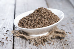 Bowl with Caraway Stock Image
