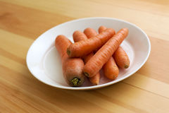 Bowl of carrots Royalty Free Stock Image