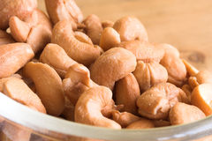 Bowl of cashew nuts Royalty Free Stock Photography