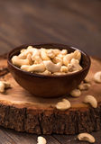 Bowl of cashew Stock Images