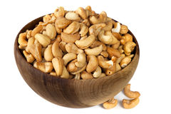 Bowl of Cashews Stock Photos
