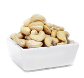 A bowl with cashews Stock Photography