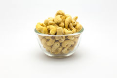 Bowl of Cashews nut Stock Photo