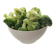 Bowl with cauliflower Stock Photos