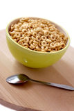 Bowl of cereal for breakfast. Healthy meal royalty free stock photo