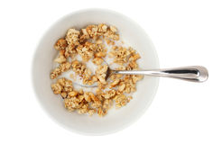 Bowl of cereal Stock Photography