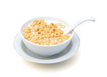 Bowl with cereal Royalty Free Stock Photo
