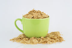 Bowl of cereals Stock Images