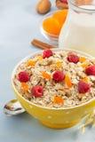 Bowl of cereals muesli Royalty Free Stock Image