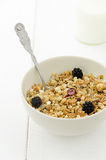 Bowl with cereals Stock Photo