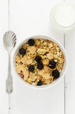 Bowl of cereals Royalty Free Stock Images