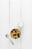 Bowl of cereals Royalty Free Stock Image