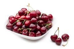 Bowl of Cherries Stock Photos