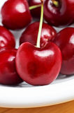 Bowl of Cherries Royalty Free Stock Image