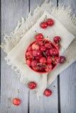 Bowl of Cherries Royalty Free Stock Photos