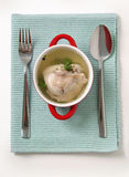 Chicken broth Royalty Free Stock Photo