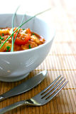 Bowl of chicken masala curry Stock Photo