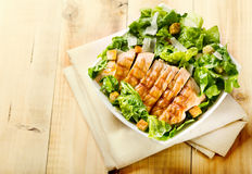 Bowl of chicken salad Royalty Free Stock Photography