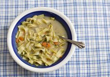Bowl of Chicken Soup Royalty Free Stock Image