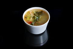 Bowl of chicken soup Royalty Free Stock Photography