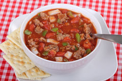 Bowl of Chili Royalty Free Stock Photos