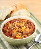 Bowl of Chili Stock Photos