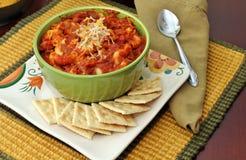 Bowl of chili Royalty Free Stock Photo