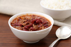 Bowl of Chili Stock Images