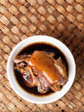 Bowl of chinese braised pork Royalty Free Stock Photos