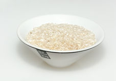 Bowl of chinese rice Royalty Free Stock Photo