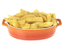 Bowl of Chips Royalty Free Stock Photography