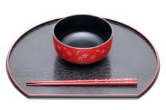 bowl chopsticks Στοκ φωτογραφία με δικαίωμα ελεύθερης χρήσης