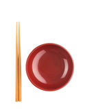 Bowl and Chopsticks II Royalty Free Stock Images