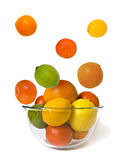 Bowl of citrus Stock Photo